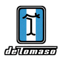 de tomaso car parts logo