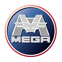 mega car parts logo